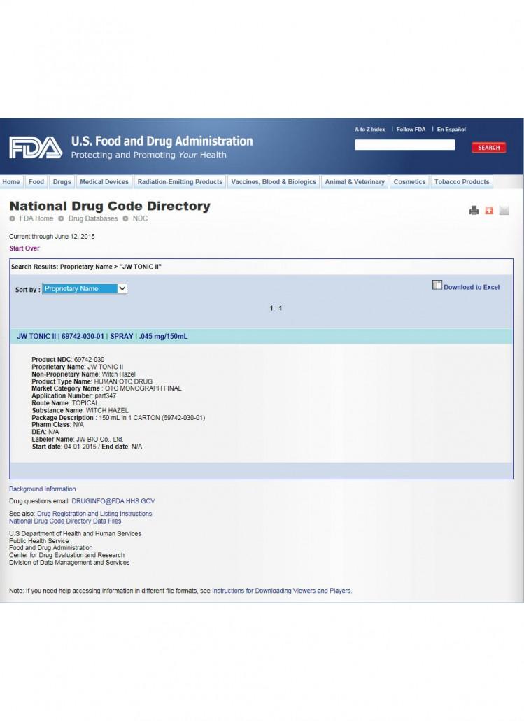 FDA OTC注册