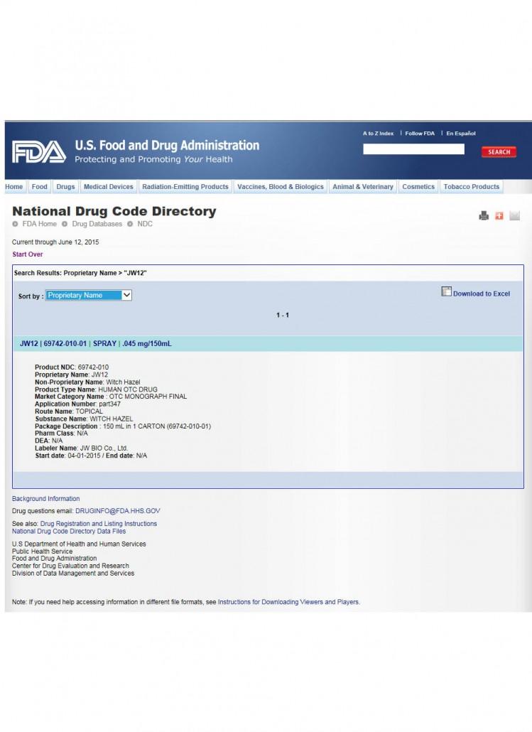 FDA(JW12)